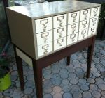 Card Catalog Two Tone